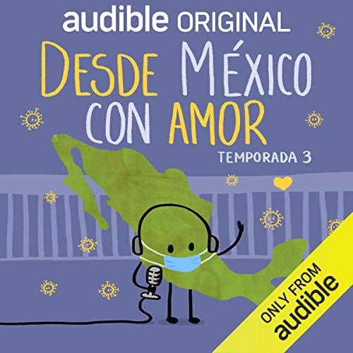Diseño de la portada del título Desde México con Amor