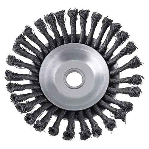 Forniture per decespugliatori a disco rotante in filo di ferro con filo rotante di torsione 25.4x200mm