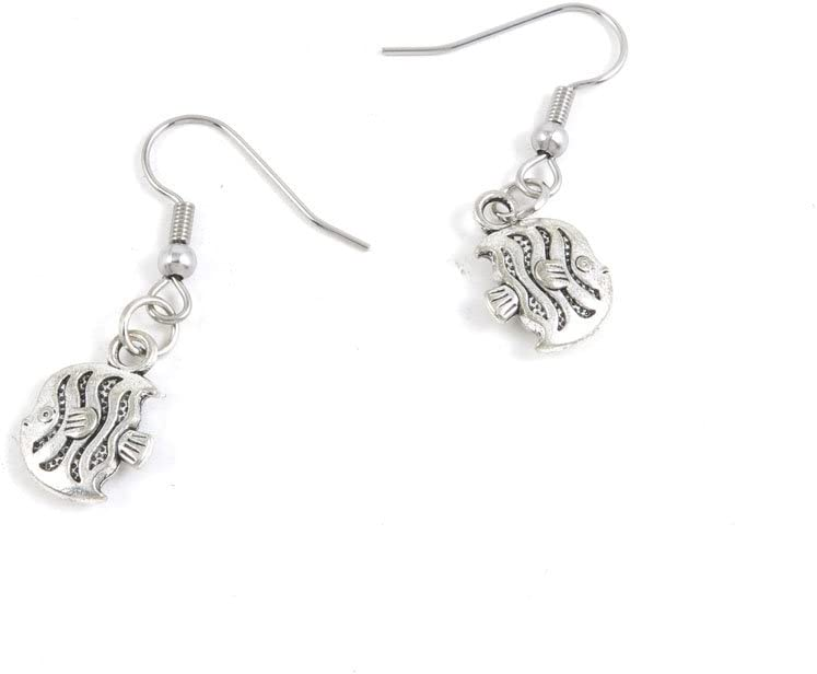 100 Pairs Jewelry Making Antique Supplies Free shipping Tone 5 ☆ popular Ho Silver Earring