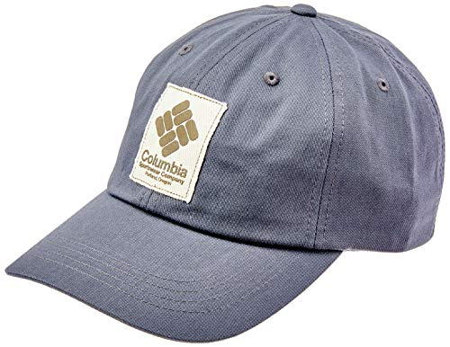 Columbia ROC II Gorra, Unisex Adulto, Gris (India Ink, Gem Patch), One Size (Adjustable)