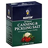 Morton Canning and Pickling Salt 4 Lb Box (2)