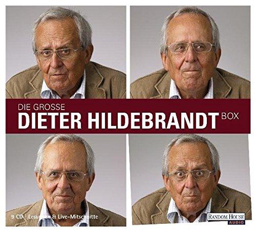 Die große Dieter Hildebrandt-Box: Mit Nie wieder 80 / Dieter Hildebrandt wirft ein / Ausgebucht / Ich musste immer lachen / Vater unser gleich nach der Werbung