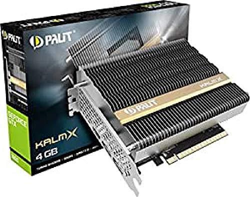 Palit GeForce GTX 1650 KalmX 4GB GDDR5 Grafikkarte passiv 2xDP/HDMI, NE5165001BG1-1170H