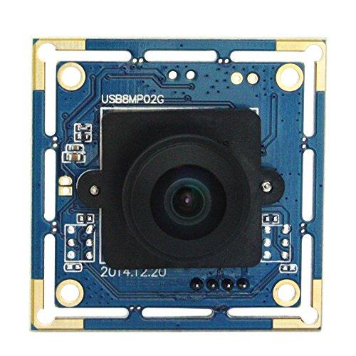 ELP 8MP IMX179 Sensor USB überwachungskameras Modul 3264X2448 Mjpeg 15fps 180 Grad Fisheye-objektiv Video Kamera