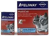 Feliway MultiCat Pheremone Diffuser & 2 Refills Cat Calming Product 60 Day Supply Bundle