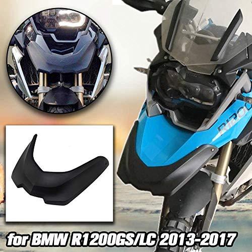 AHOLAA Motocicleta Rueda Delantera Guardabarros Pico Nariz Cono Protector Extensión Cubierta Capucha para B.M.W R1200GS R 1200GS R 1200 GS LC Adventure 2013 2014 2015 2016 2017