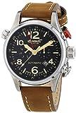 Ingersoll Lawrence - Reloj automático para Hombre, Correa de Cuero Color marrón