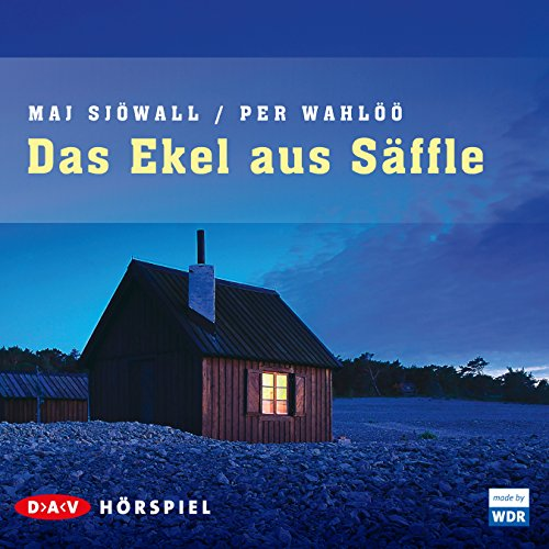 Das Ekel aus Säffle audiobook cover art
