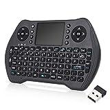 Nrpfell Funk Tastatur mit Touchpad Maus
