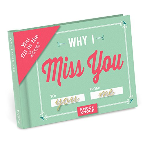 Why I Miss You Fill In The Blank, Love Book
