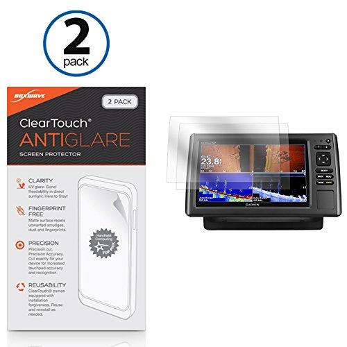 BoxWave Screen Protector for Garmin echoMAP 94sv [ClearTouch Anti-Glare (2-Pack)] Anti-Fingerprint Matte Film Skin for Garmin echoMAP 94sv