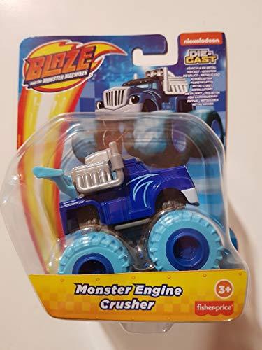Blaze The Monster Machines - GWX78 - Veicolo in Metallo - Monster Engine Crusher