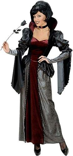 Horror-Shop Dunkle Vampir K gin Kostüm Deluxe für Halloween L