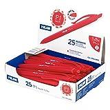 Caja expositora 25 bolígrafos P1 touch rojo