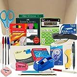 Papelivi - Lote Pack Set de Material de Oficina y Papelería ESENCIAL - Teletrabajo - Vuelta al trabajo - Artículos de calidad