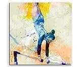 Turnen VIII 60x60cm Wandbild SPORTBILD Aquarell Art tolle