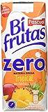 Bifrutas - Tropical Zero - Bebida Refrescante de Leche y Zumo de Frutas - 3 x 330 ml, pack de 6