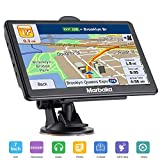 GPS Navigation for car, 7 inch HD Capacitive Touch Screen GPS Navigation System with 8G Memory, Attach Sunshade,Free Lifetime Maps Update,Pre-Install North America map