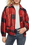 [スコッチアンドソーダ] レディース ジャケット・ブルゾン Scotch & Soda Oversize Wool Blend Trucke [並行輸入品]