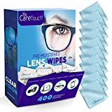 Care Touch Lens Cleaning Wipes with...