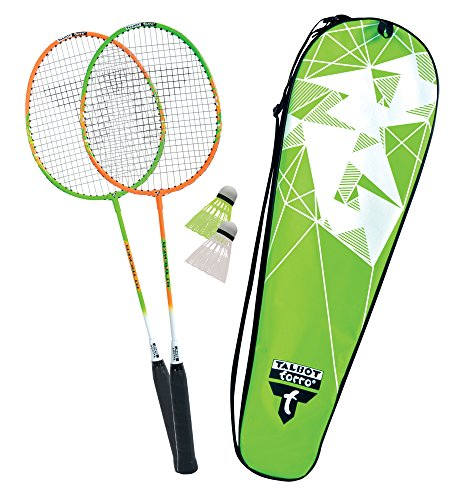 Talbot Torro Unisex Talbot Torro Badminton-set 2-attacker im Thermobag (2017), 449502 Badminton Set, Set, 449502, M EU