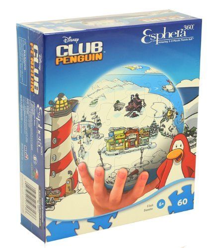 Disney Club Penguin 3D Puzzle by Esphera by Eshpera 360