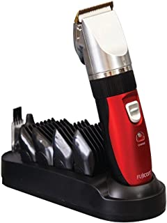 Professional Haircut Beard Trimmer Hair Clippers Beard Grooming Styling Kit 4 Comb Set + 5 Gear Modes + Oil + Cordless Rechargeable Hair Shaver Device & Facial Hair Trimmer