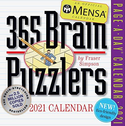 Mensa 365 Brain Puzzlers 2021 Calendar