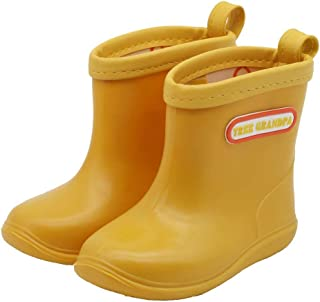 Baby Waterproof Shoes Toddler Kids Rain Boots Boys Girls Cute Play Boots