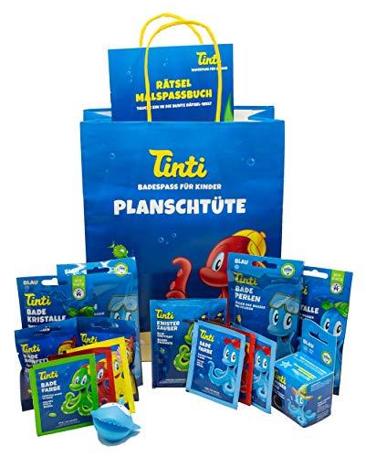Tinti Planschtüte XXL mit lustigem Spritztier für Jungs oder Mädchen (Jungs)