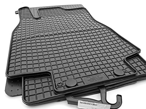 Gummimatten W245 B Klasse - Original Qualität Gummi Fußmatten 4-teilig schwarz
