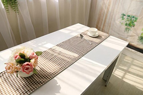 BiuTeFang Tafelloper Tafellopers Linnen, Tafelvlag, modern, eenvoudig, salontafel vlag, tafelkleden Banket Party Decoratie 30X180cm