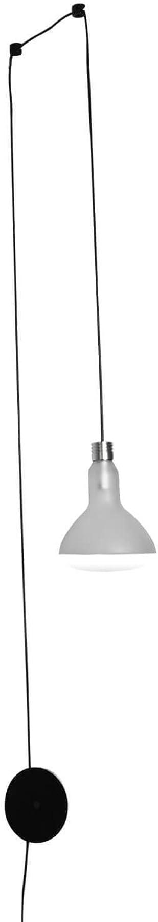 Karman makeup led, lampada da parete,in vetro trasparente AP1231T INT