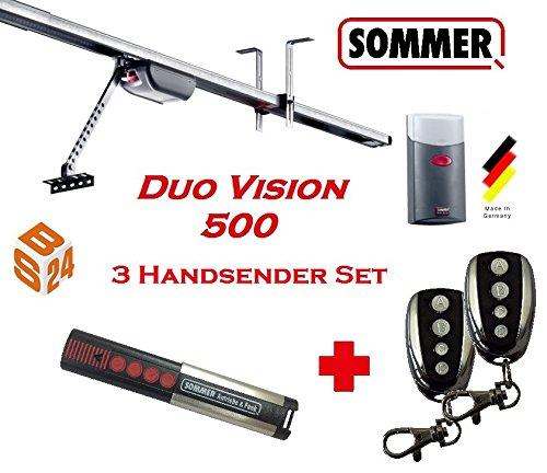 Sommer Duo Vision 500 Garagentorantrieb 3er Set - Torantrieb - Garagentoröffner