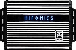 $159 » Hifonics ZTH-1025.4D Zeus Theta Compact Full Range 4 Channel Car Audio Amplifier (Silver) – Class D Amp, 1000-Watt, Onboar...