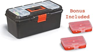 Tool Box | Organizer and Storage For Tools, Fishing Tackle, Toys, Lego, Art, Craft, and Parts 16