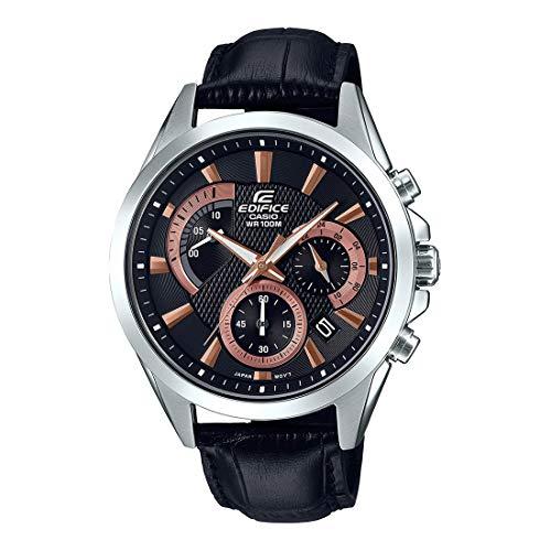 Relógio Masculino Casio Edifice EFV-580L-1AVUDF Prata/Preto
