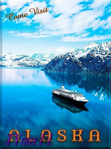 TYmall 1000 Piece Jigsaw Free NEW Shipping Cheap Bargain Gift Puzzle United Alaska Come Cruise Visit