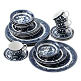 Johnson Brothers 2140055400 Willow Blue 20 Piece DinnerwareSet