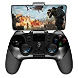 <span class='highlight'><span class='highlight'>EEEKit</span></span> Wireless Mobile Game Controller Compatible with IOS Android Win7/8/10 PC, Bluetooth Gamepad for iPhone iPad Samsung Galaxy with Telescopic Phone Holder and Turbo Function