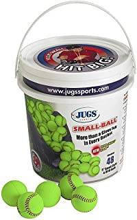 Jugs Bucket Vision-Enhanced Yellow Small Balls—4 Dozen