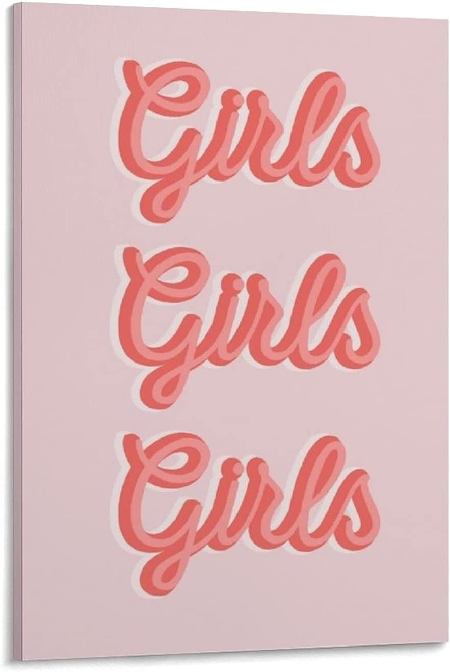 QINY Vintage Poster Super sale period Rapid rise limited ZXL Girls Canvas and Wall Art Pic