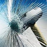 Fenster Splitterschutz Folie - AWKAQUN Sicherheitsfolie Splitterschutzfolie Einbruchschutzfolie Fensterfolie Folie (76cm*3m)