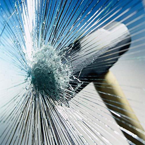 Happyroom Fenster Splitterschutz Folie Sicherheitsfolie Splitterschutzfolie Einbruchschutzfolie Fensterfolie Folie (76cm*3m)