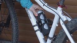 luz LED ideal para equitaci/ón A-Gris autonom/ía 24 horas // 4000 mAh TF altavoz port/átil para bicicleta soporte de bicicleta y mosquet/ón soporte AUX impermeable Altavoz Bluetooth port/átil