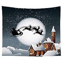 130cm * 150cmクリスマスタペストリー装飾寮の部屋の背景布の写真の背景 写真スタジオの写真の小道具 (Color : L, Size : One size)