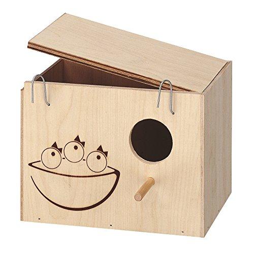 Accessori uccelli Ferplast NIDO MEDIUM legno FSC casetta rifugio riparo