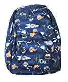 Loungefly x Star Wars Chibi Ships Allover-Print Backpack (Blue Multi, One Size)
