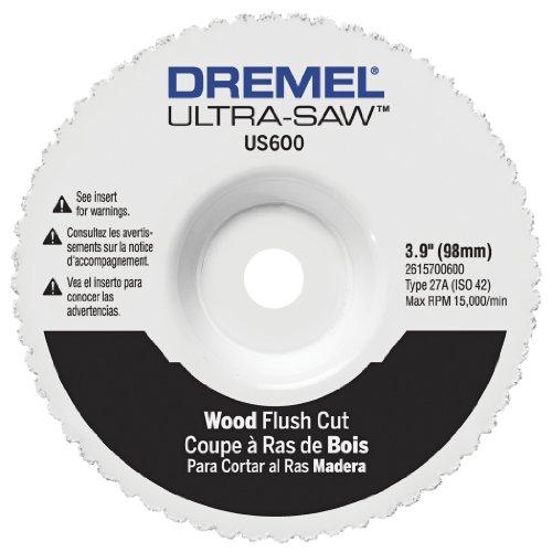 Dremel US600-01 Ultra-Saw 4-Inch Wood Flush Cut Wheel