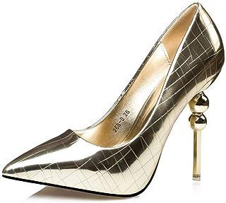 Ying-xinguang Shoes Fashion Waterproof Platform Retro Stiletto High Heel Women's Shoes Women's High-Heeled Shoes Comfortable